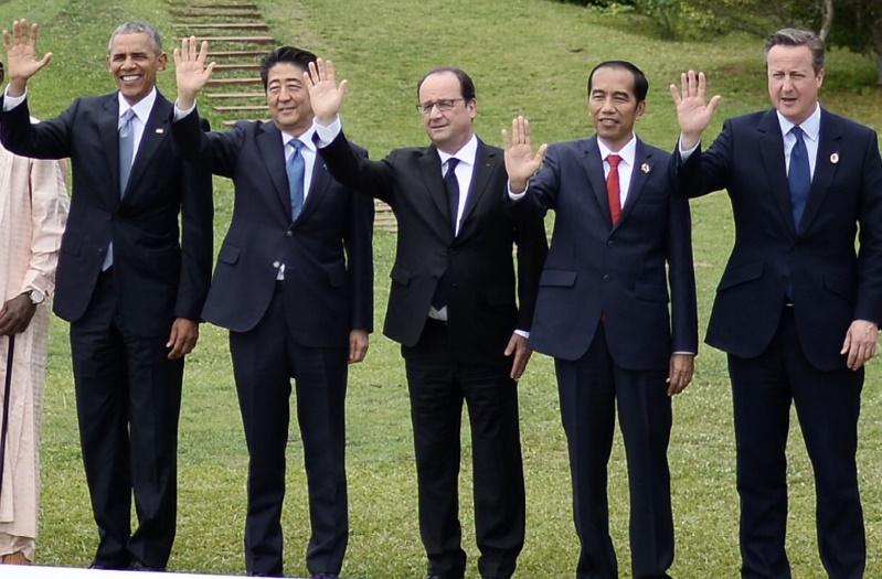 Le G7 veut stimuler la croissance et redoute un Brexit