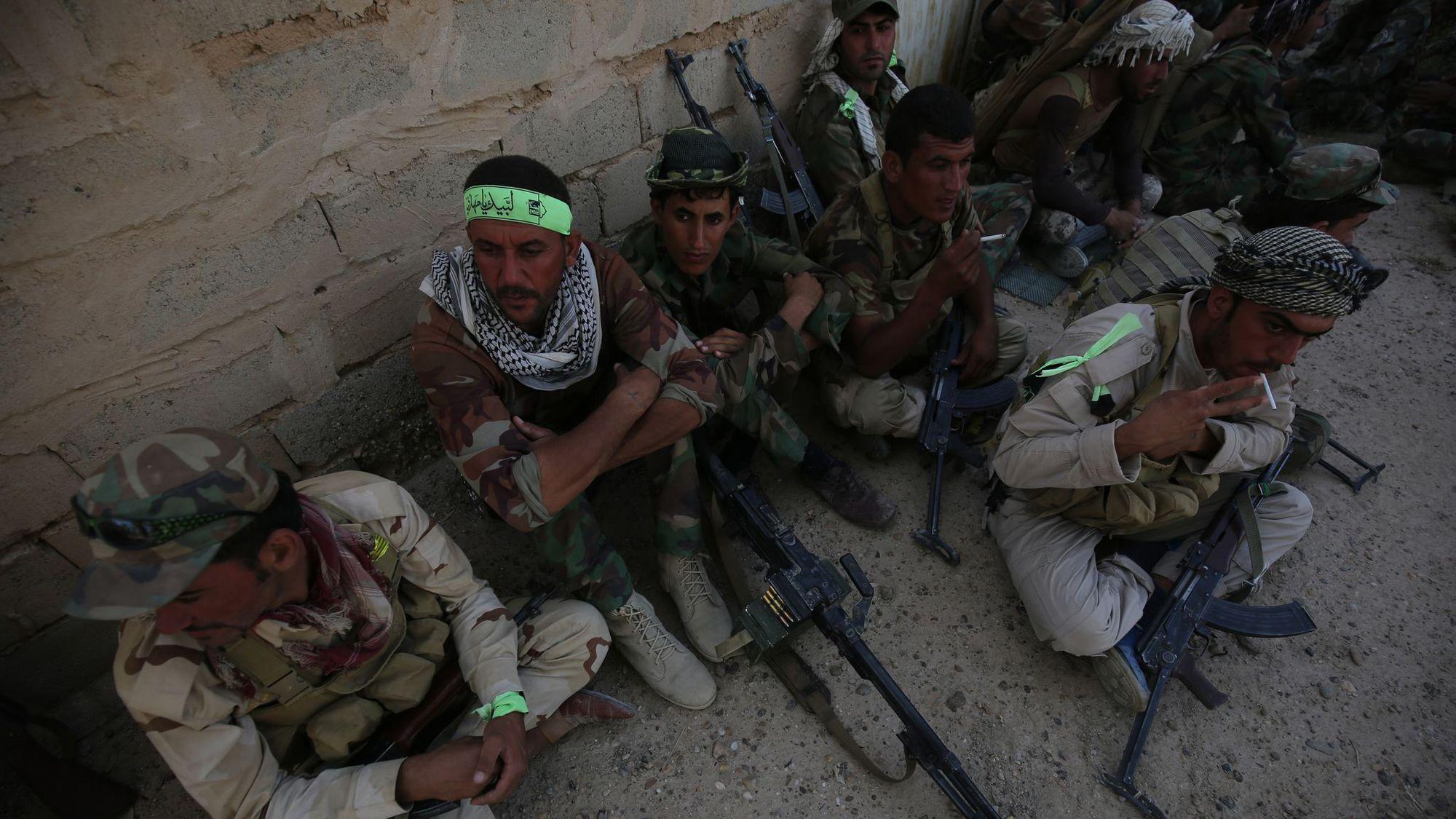 Les forces irakiennes resserrent l'étau autour de Fallouja toujours aux mains de l'EI