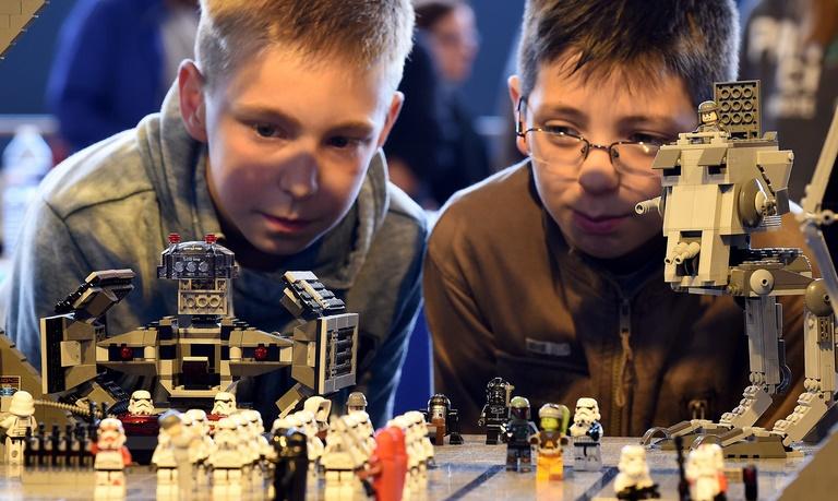 Les produits Lego plus violents