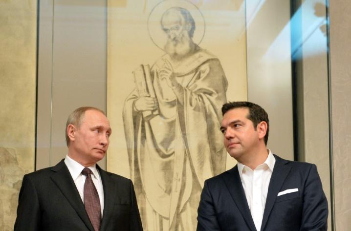 Poutine et Tsipras dopent leur coopération économique, un mois avant la décision de l'UE sur les sanctions