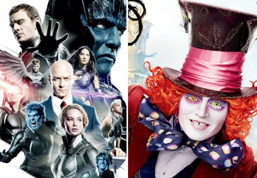 X-Men et Alice en tête du box-office