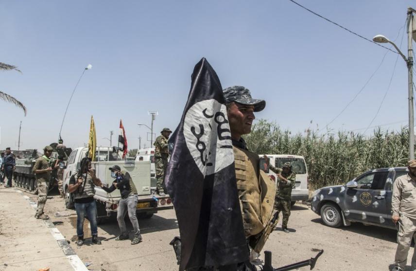 Les forces irakiennes entrent dans Fallouja