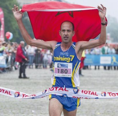 Najim El Qady remporte les 20 km de Bruxelles