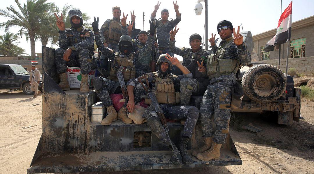Les forces  irakiennes  gagnent du  terrain  à l'ouest  de Fallouja