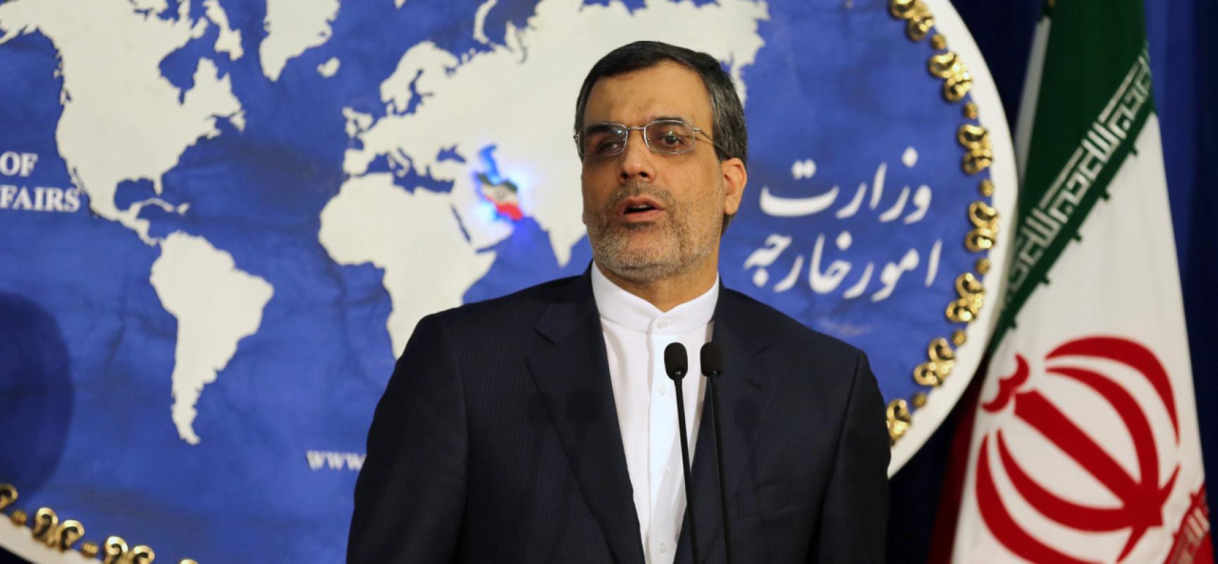 """L'Iran rejette  les accusations  américaines de soutien au """"terrorisme"""""""