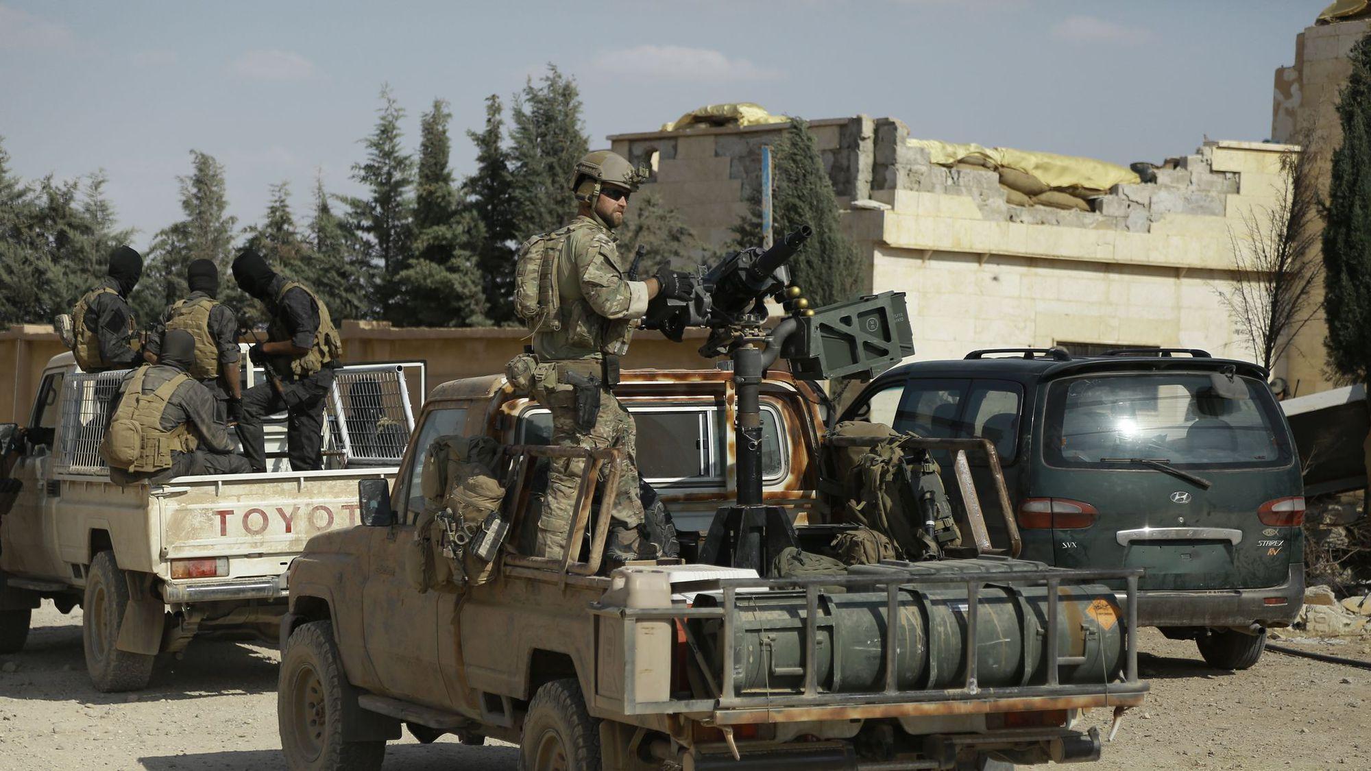 En Syrie, les rebelles s'approchent  de Minbej aux mains de l'EI