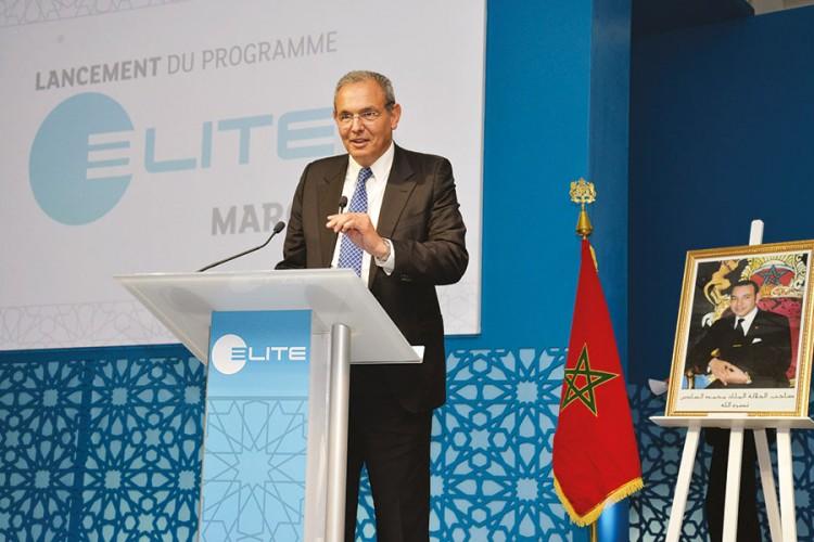 Elite au service  de la PME au Maroc