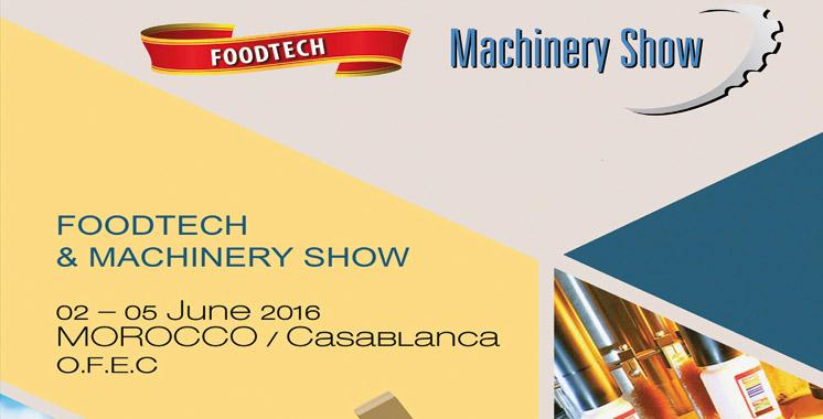 """Le premier Salon """"Foodtech  et machinery show"""" à Casablanca"""