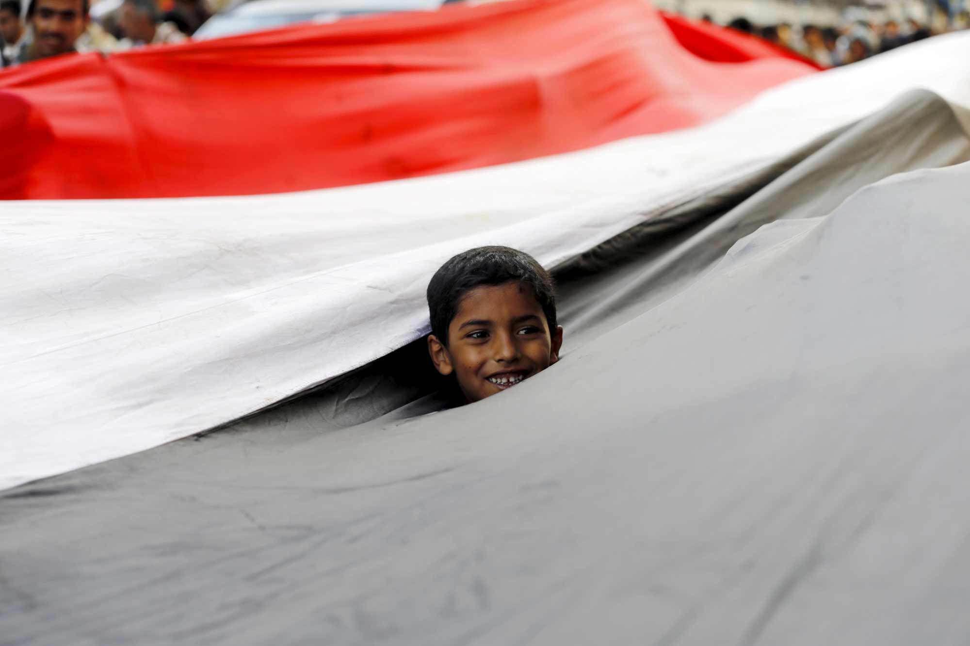 Accord  pour la  libération des enfants faits  prisonniers au Yémen
