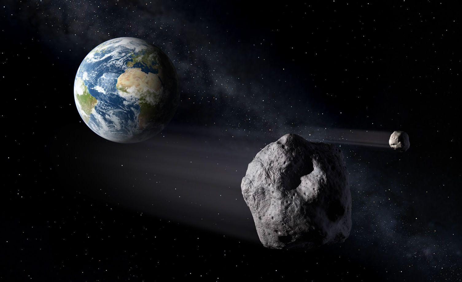 Sur la Terre comme sur la Lune, l'eau viendrait d'astéroïdes