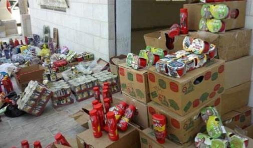 Saisie d'une demi-tonne de produits alimentaires périmés à Laâyoune