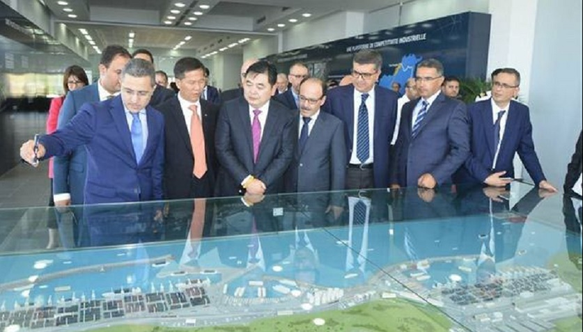 La cité industrielle de Tanger, un projet stratégique maroco-chinois