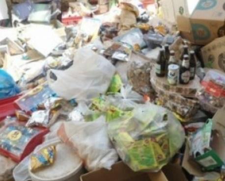 Destruction d'une tonne de produits impropres à la consommation au niveau national