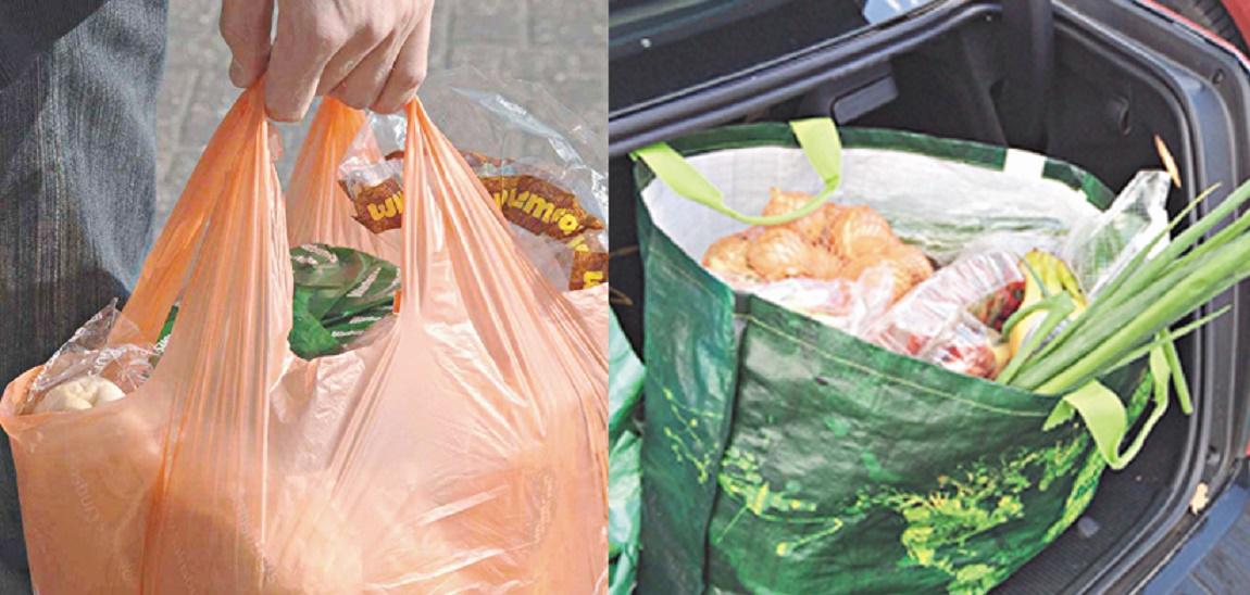 Les sacs en plastique entre interdiction et tolérance