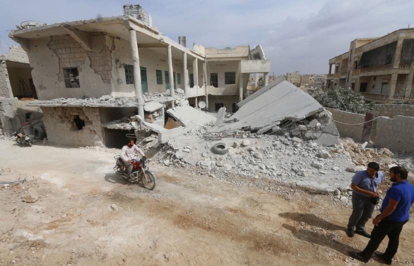 Frappes russes à Alep et contre des rebelles soutenus par les Etats-Unis