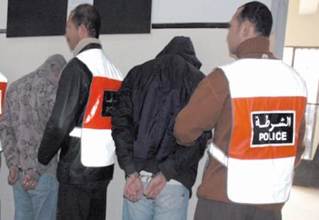 Arrestation à Casablanca de trois Algériens pour vol par effraction