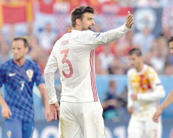 Après le bras d'honneur de Pogba, le doigt d'honneur de Piqué ?