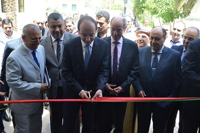 'Inauguration  officielle de l'agence par le DG de l'ANAPEC, Anas Doukkali