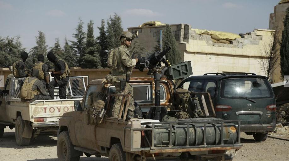 Percée des forces antijihadistes à Minbej bastion de l'EI dans le nord de la Syrie