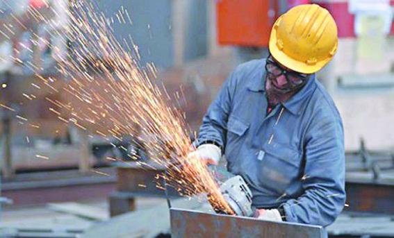 """Repli de la production industrielle de la """"mécanique et métallurgie"""""""