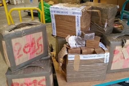 Saisie de plus de 7 tonnes de hachich en l'espace d'une vingtaine de jours