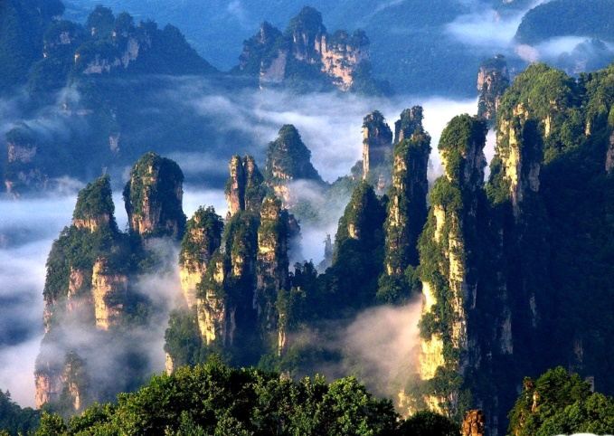 Les destinations les plus spectaculaires du monde : Le pont des immortels - HuangHsan, Chine