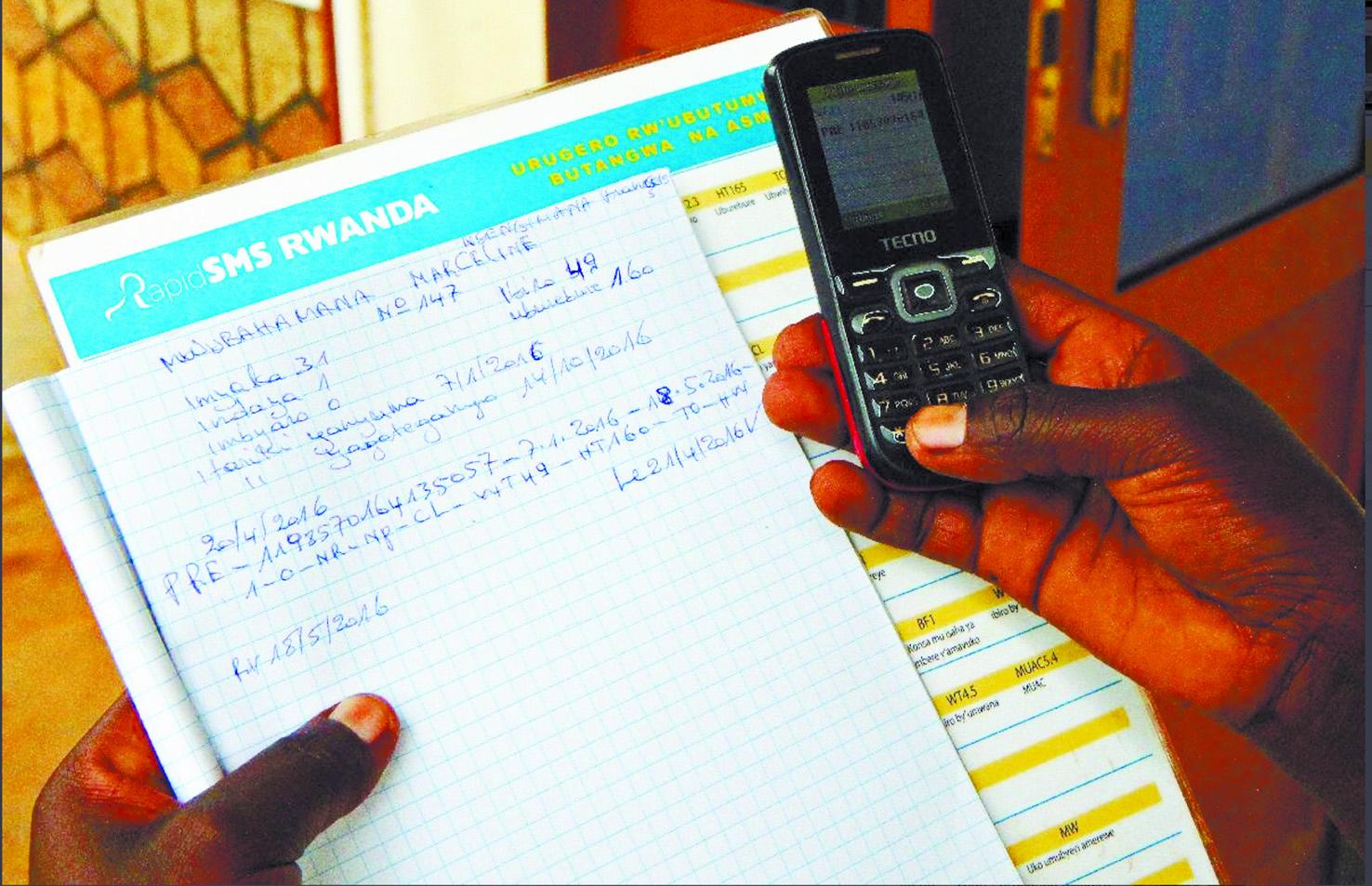 Au Rwanda, des textos peuvent sauver les nouveau-nés