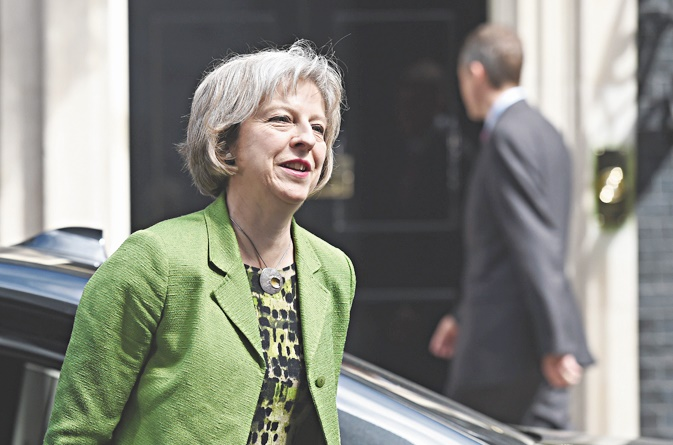 Theresa May, la dame de fer du Brexit