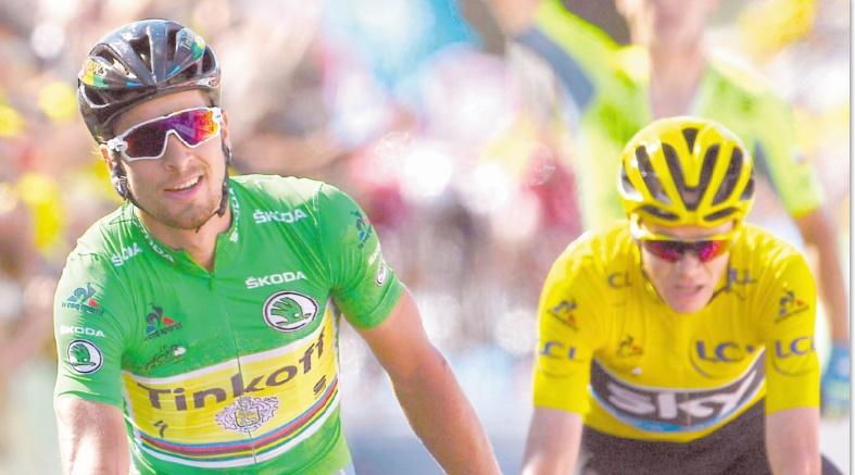 Sagan et Froome alliés d'un jour : 11ème étape du Tour de France