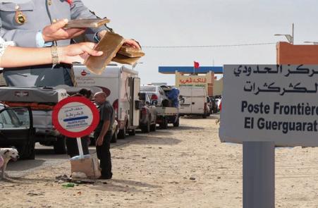 Les saisies se poursuivent au point frontalier Guergarate