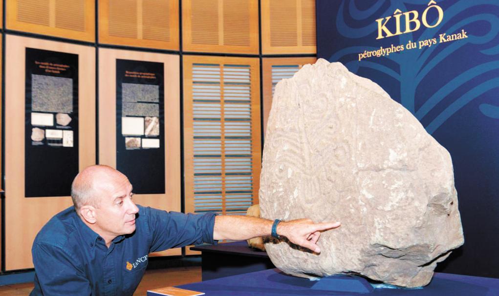 A Nouméa, une exposition décrypte les  pétroglyphes, la mémoire gravée des Kanak