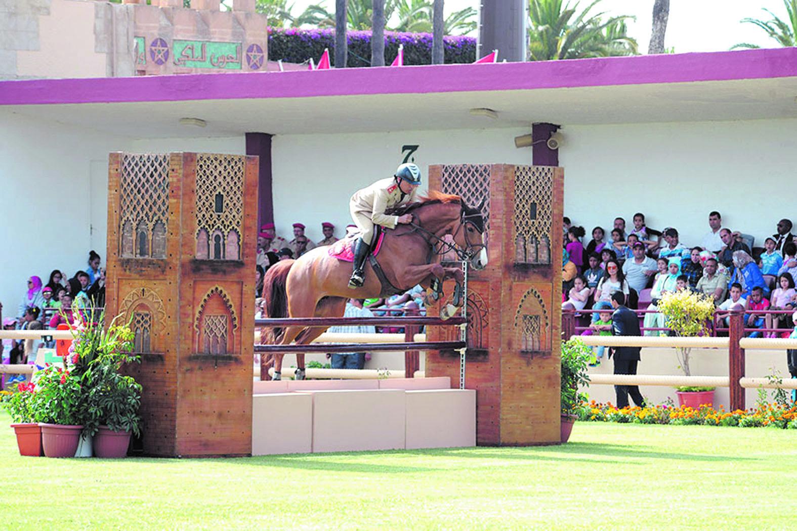 Le Lt-colonel Zacaria Boubouh remporte le championnat du Maroc de sauts d'obstacles