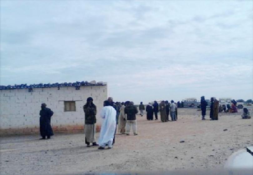 Levée de boucliers des habitants de M'Haïriz contre le  Polisario
