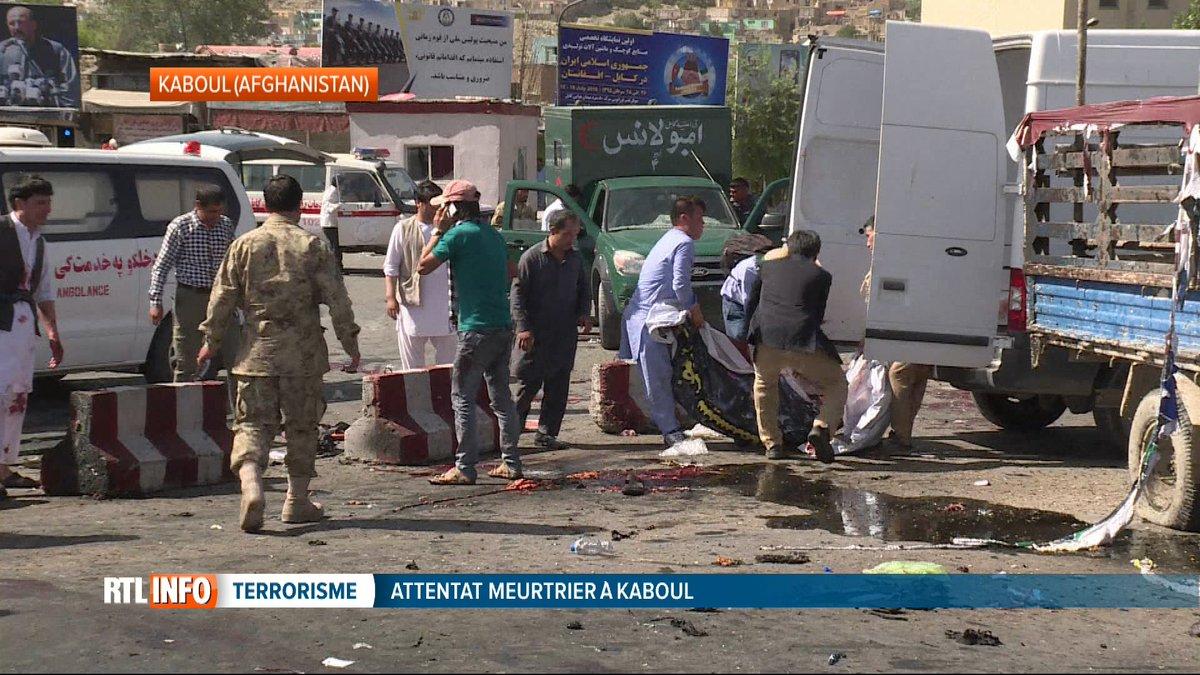 Carnage à Kaboul au moins 80 morts