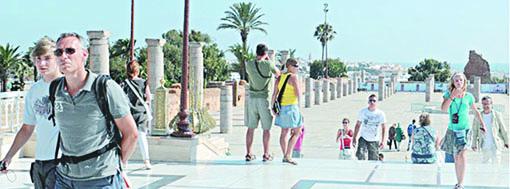Evolution positive des recettes touristiques