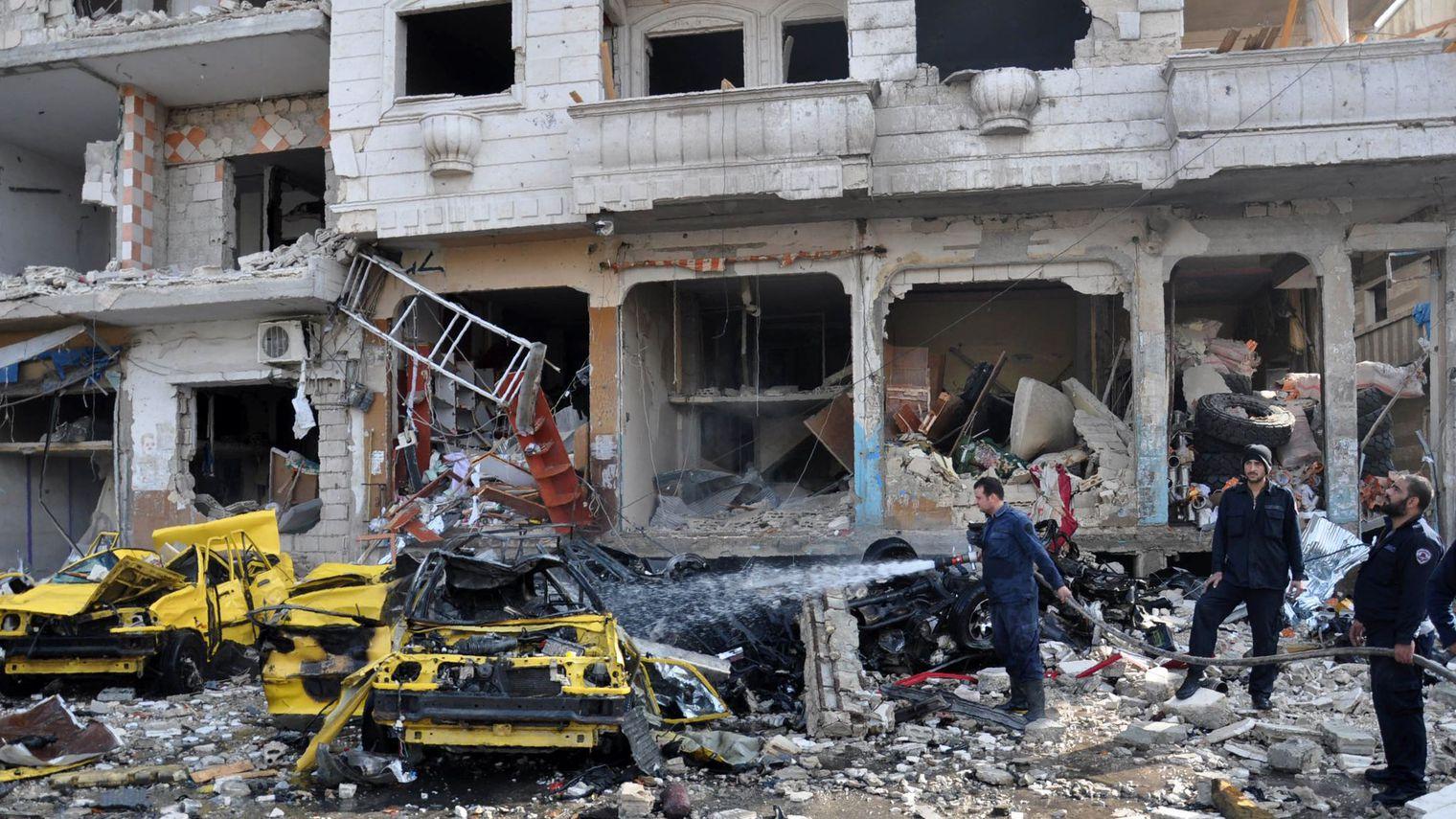 Deux attentats meurtriers dans  une ville à majorité kurde en Syrie
