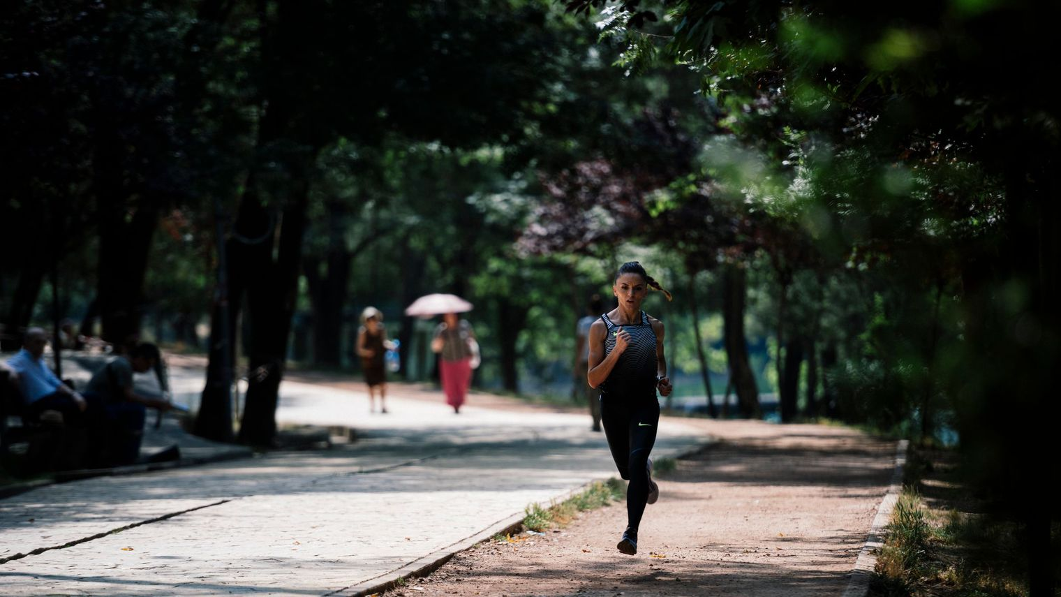 La solitude de la coureuse de fond albanaise