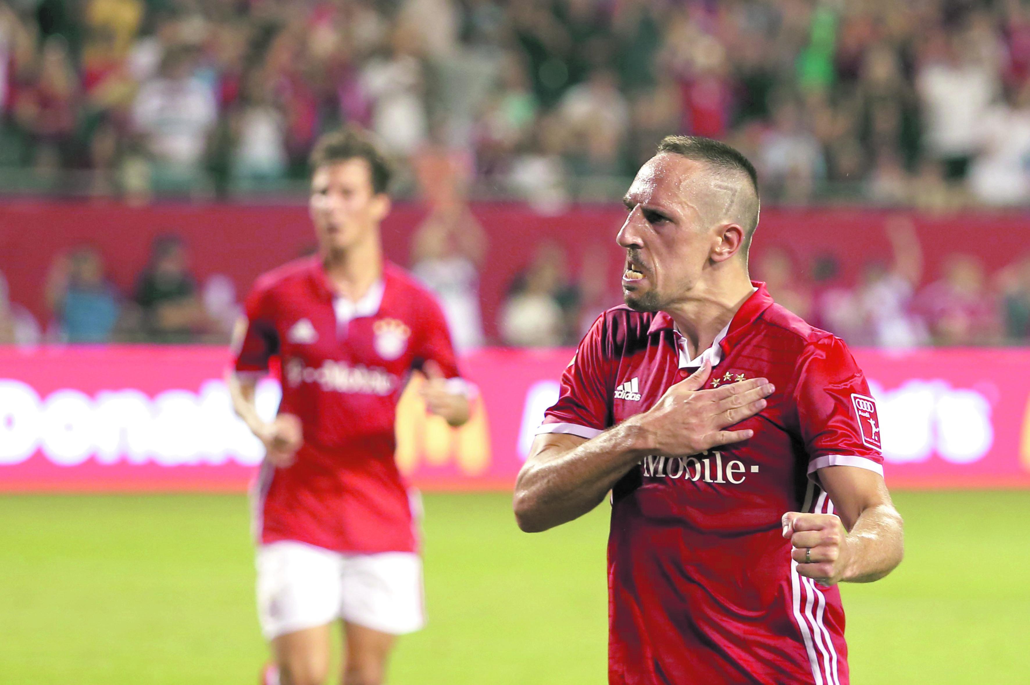 Ribéry règle ses comptes avec Guardiola