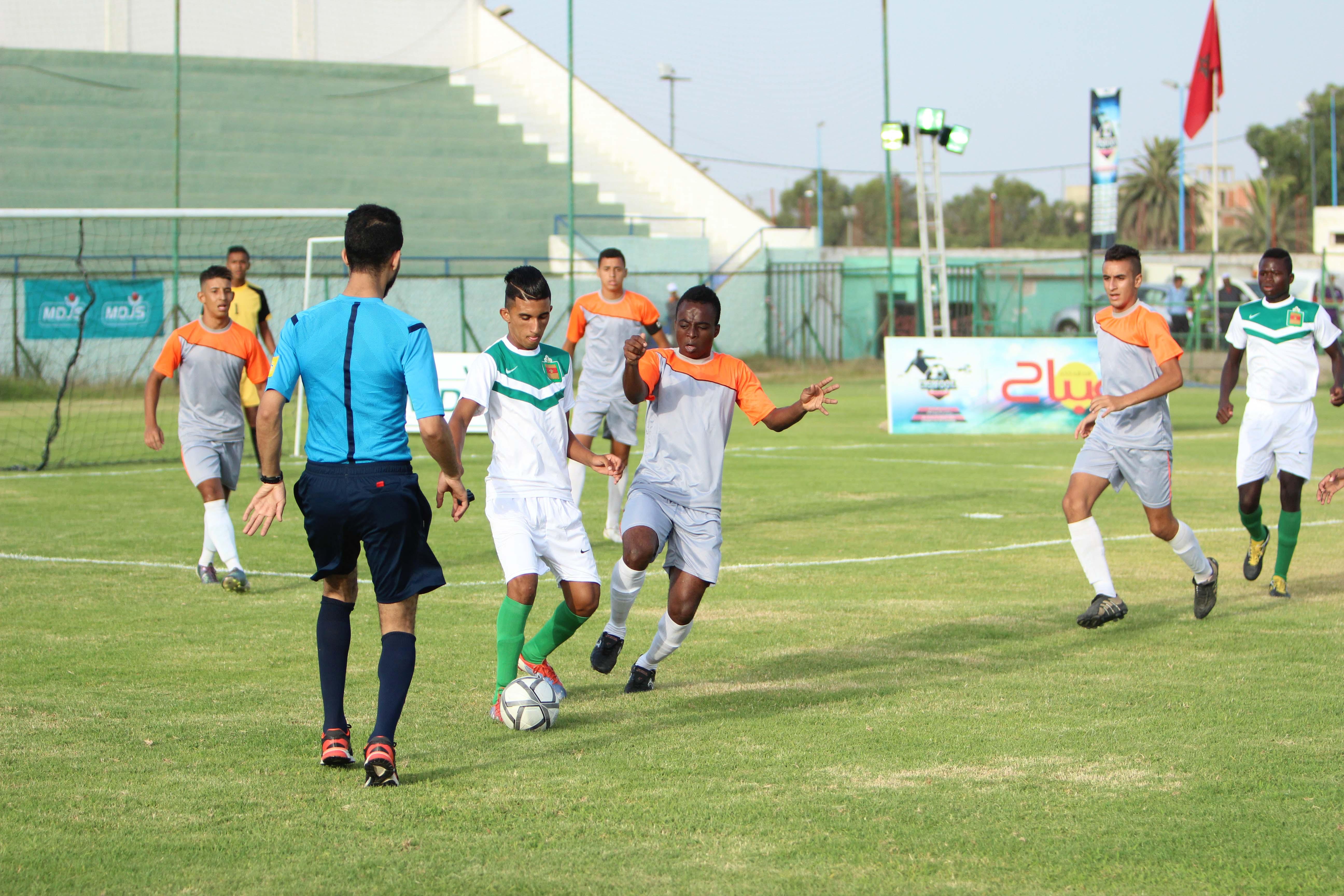 En remportant la finale de la Casa Foot Cup 2016, l'arrondissement Hay Hassani s'adjuge le titre de champion casablancais