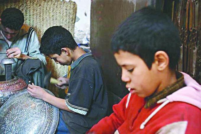 Près de 9% des enfants exercent un emploi dans la province de Marrakech