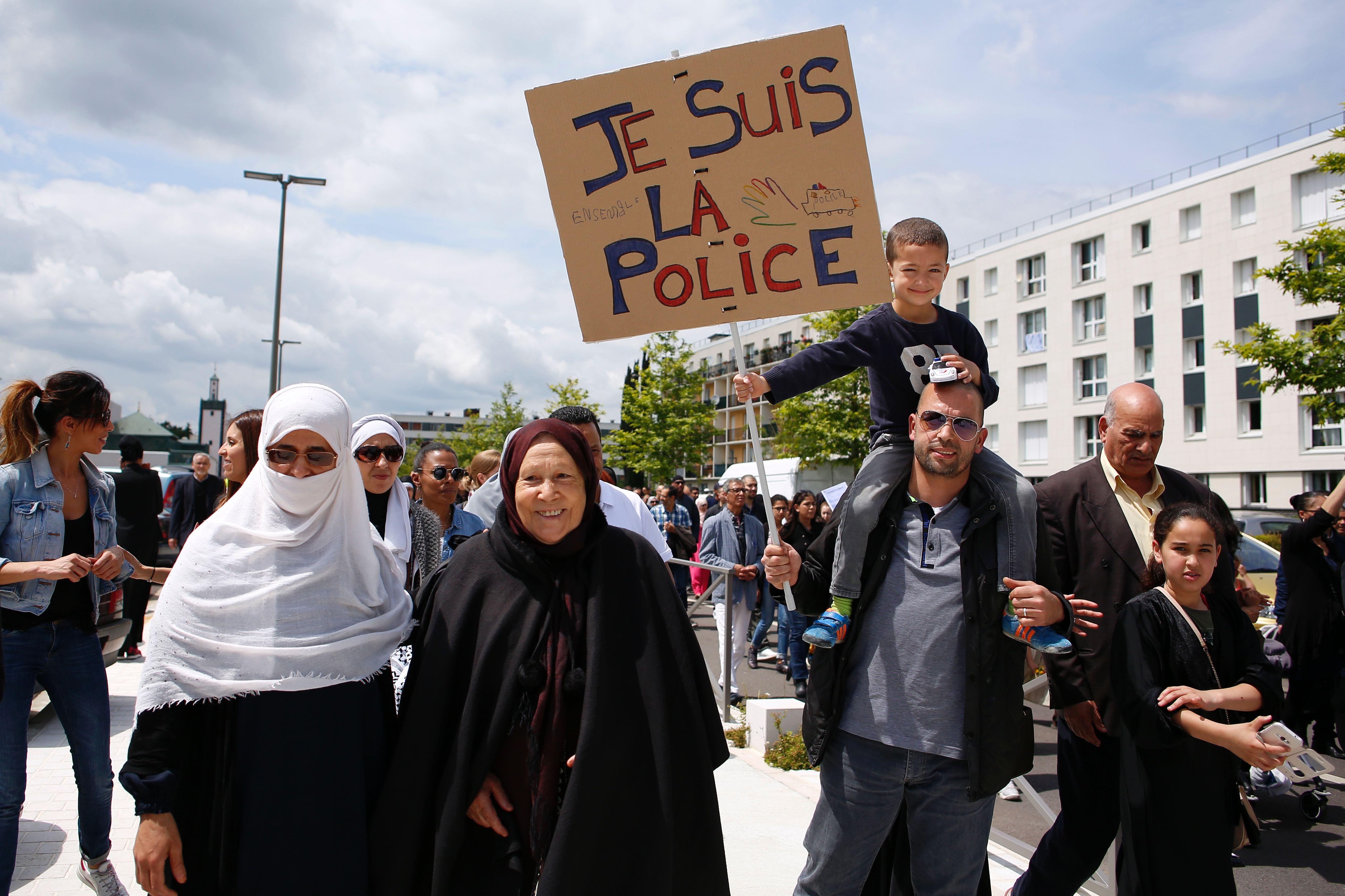 Les musulmans de France  manifestent leur rejet du jihadisme