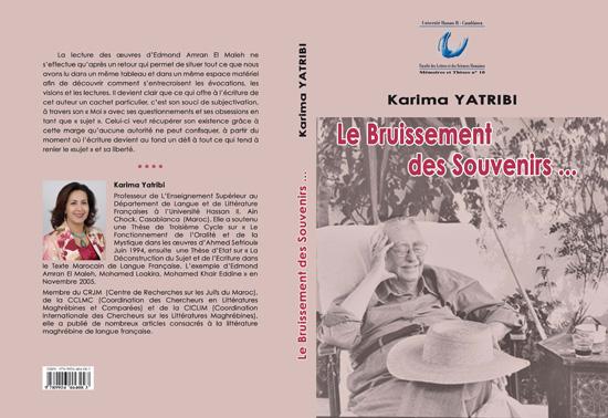 Karima Yatribi:  L'écrivain Edmond Amran  El Maleh, est le porte-parole de tout un peuple