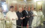 Une délégation de l'USFP se recueille sur la tombe de Feu Hassan II