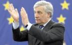 L'Italien Tajani, élu président du Parlement européen