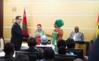 S.M le Roi et le chef de l'Etat ghanéen président la cérémonie de signature de 25 accords