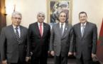 Habib El Malki s'entretient avec une délégation parlementaire péruvienne