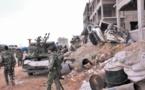 33 morts  dans une attaque sur une école bombardée près de Rakka
