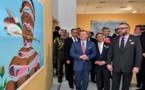 S.M le Roi s'entretient en tête-à-tête avec le Souverain jordanien