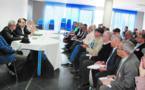 Réunion de la transparence entre le Premier secrétaire et les secrétaires régionaux et provinciaux de l'USFP