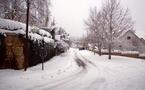La ville est sous la neige :   Ifrane retrouve sa beauté d'antan